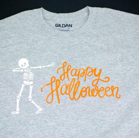 Halloween Iron On T Shirt