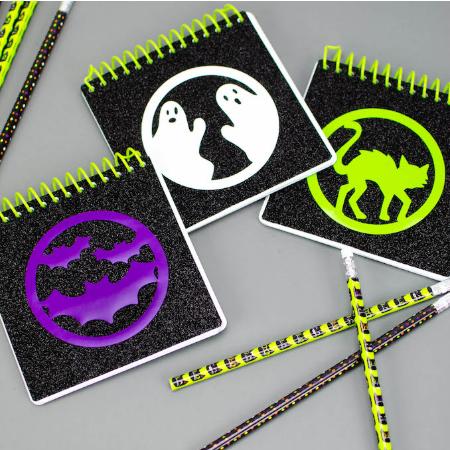 Halloween Notebook Decals