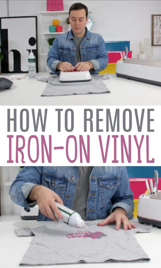 How To Remove Iron On Vinyl