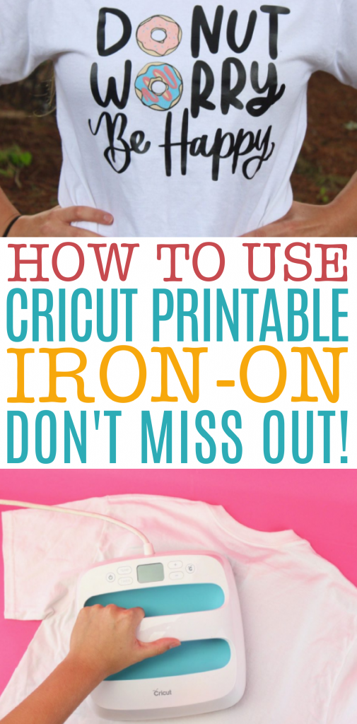 How To Use Cricut Printable Iron On Don't Miss Out