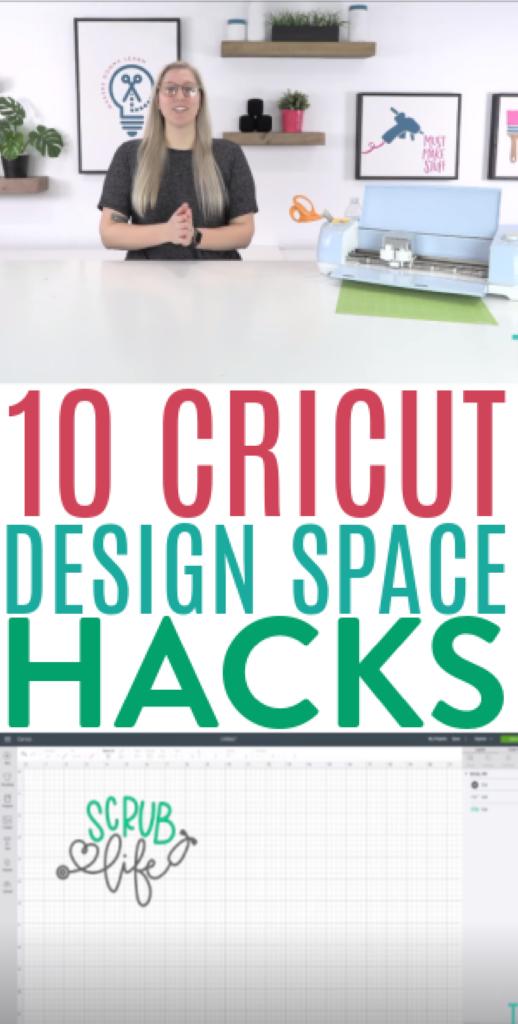 10 Cricut Design Space Hacks
