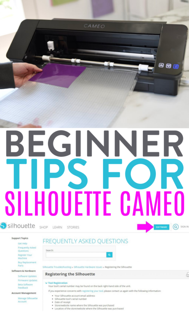 Beginner Tips For Silhouette Cameo 1