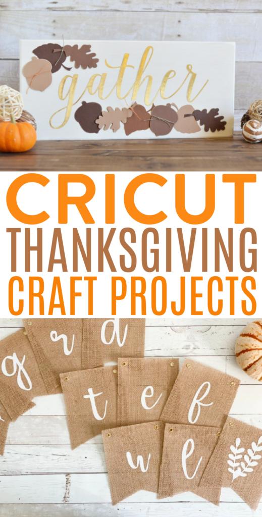 Cricut Thanksgiving Craft Projects 1