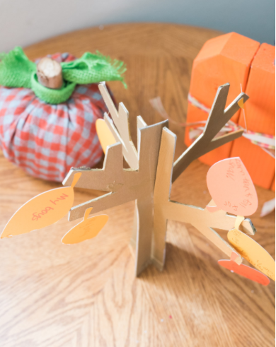 Diy Thanksgiving Thankful Tree