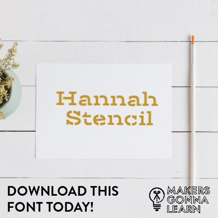 Hannah Stencil