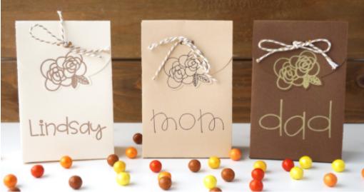 Thanksgiving Favor Boxes