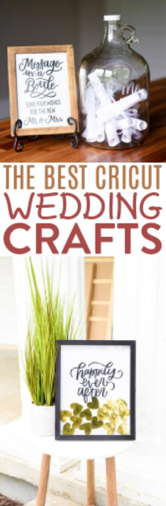 The Best Cricut Wedding Crafts 1