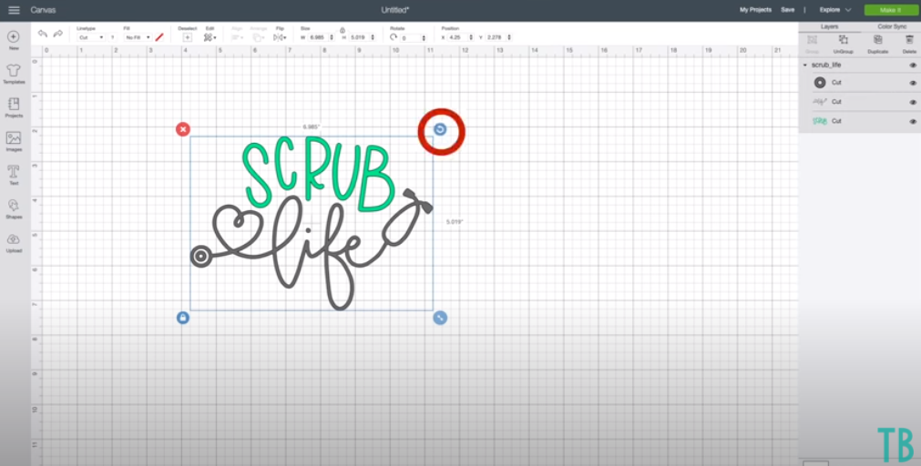 How To Rotate Designs In Cricut Design Space