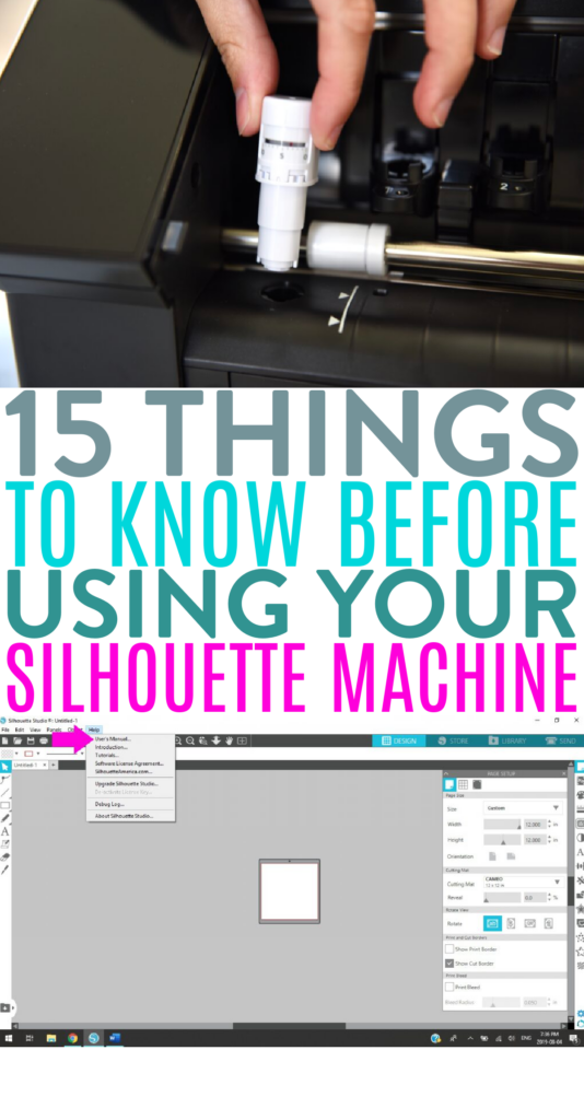 15 Things To Know Before Using Your Silhouette Machine 1