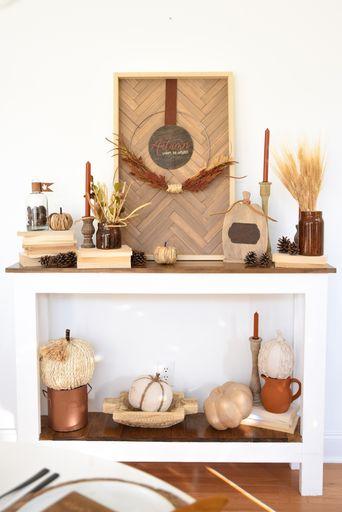 Cricut Fall Home Decor
