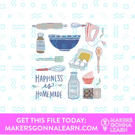 Baking Card + Sticker