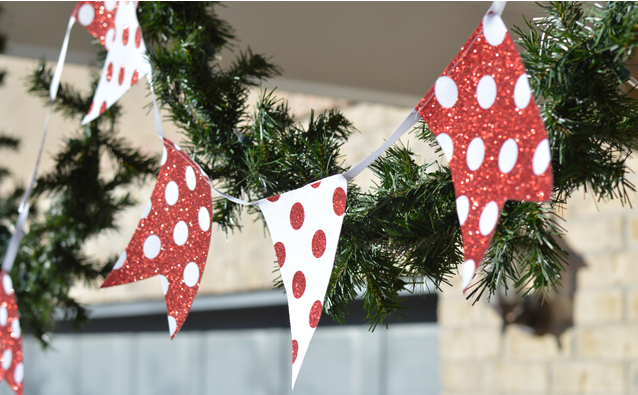 Diy Christmas Front Porch Banner
