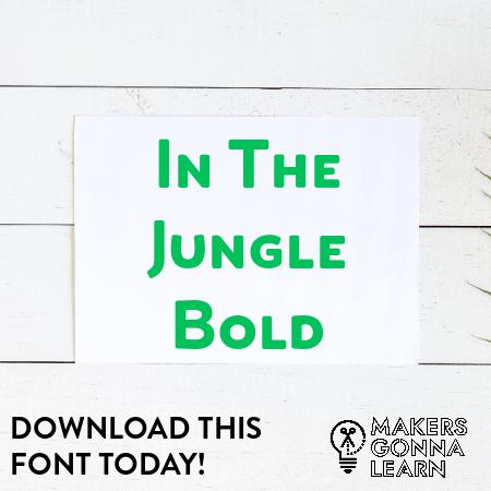 In The Jungle Bold
