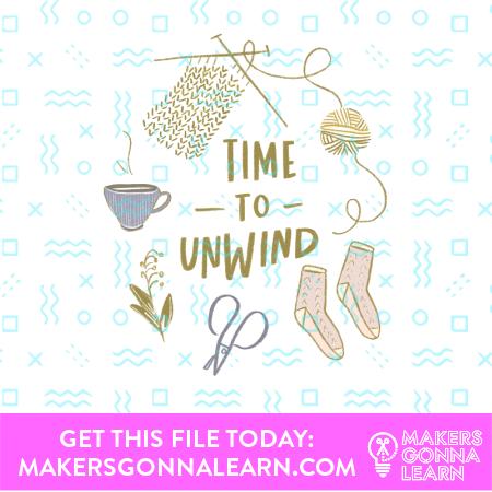Knit Card + Sticker
