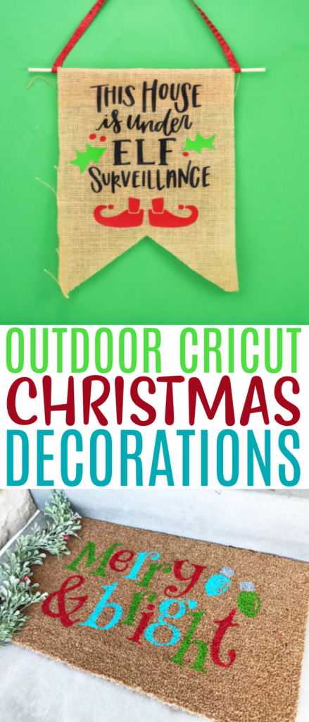 Outdoor Cricut Christmas Decorations