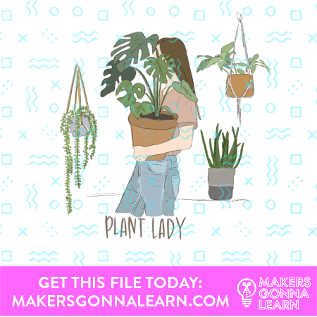 Plant Card + Sticker