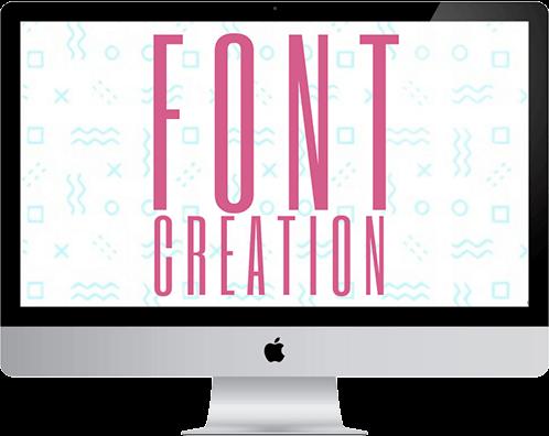 Bounus Font Creation