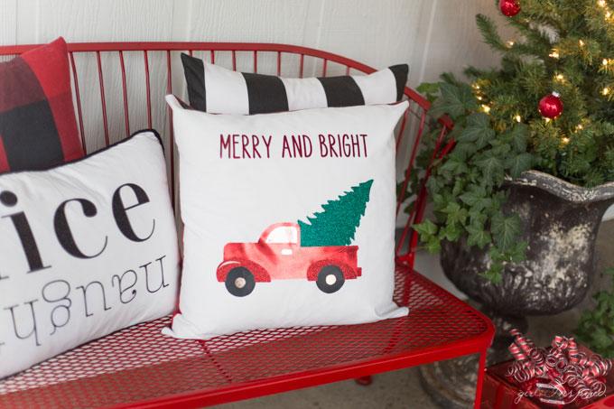 Christmas Porch Pillows 1