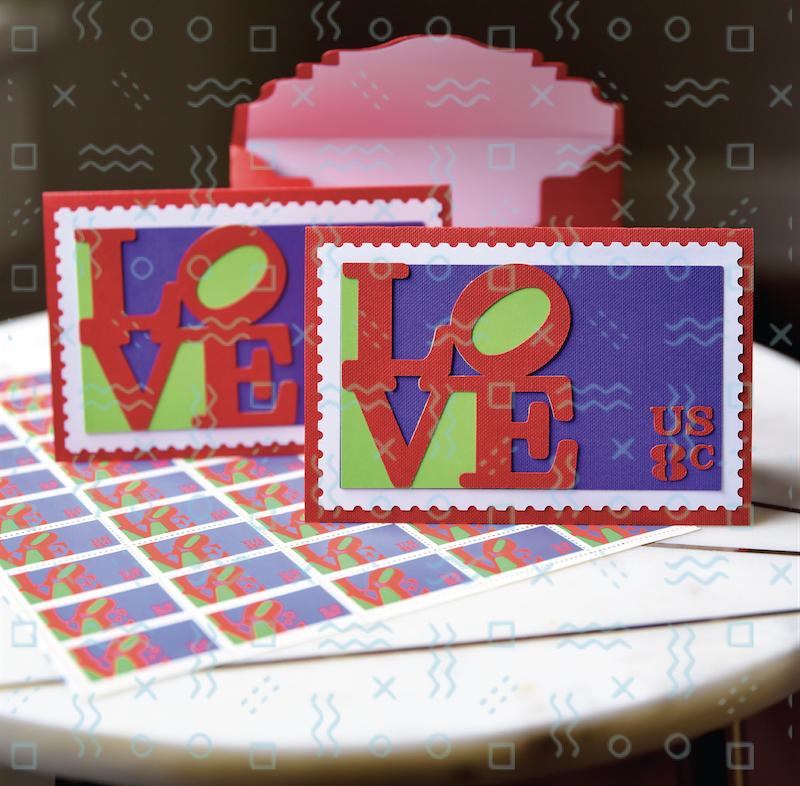 love stamp card