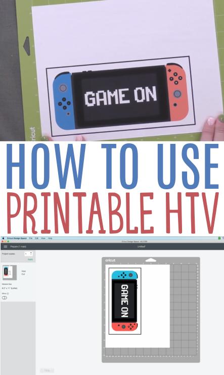 How To Use Printable Htv 1