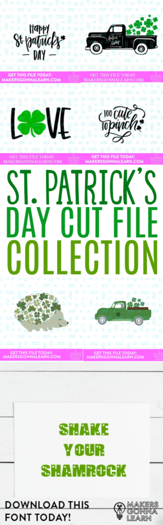 St. Patricks Day Cut File Collection