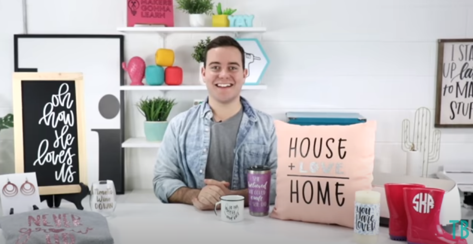 Craft Projects You Can Make With Your Cricut And Sell including signs pillows, mugs, tumblers, jewelry, and shirts