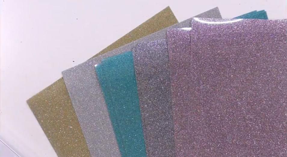 Selection Of Glitter Htv