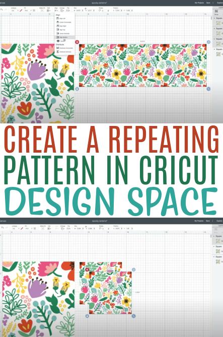 Create A Repeating Pattern In Cricut Design Space 1