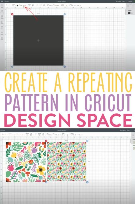 Create A Repeating Pattern In Cricut Design Space