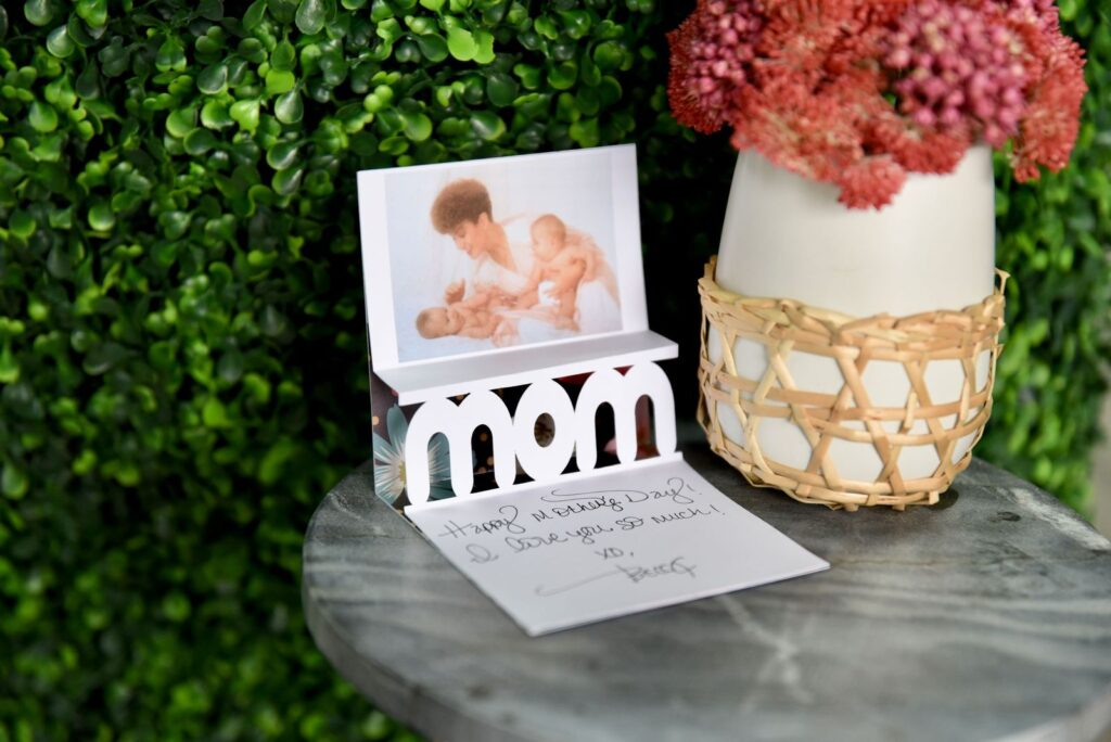 Mom 3D Popup Photo Card