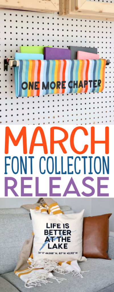 March Font Collection Release Projects