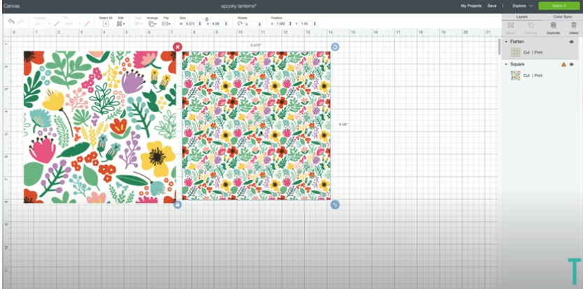 Creating A Repeating Pattern In Cricut Design Space