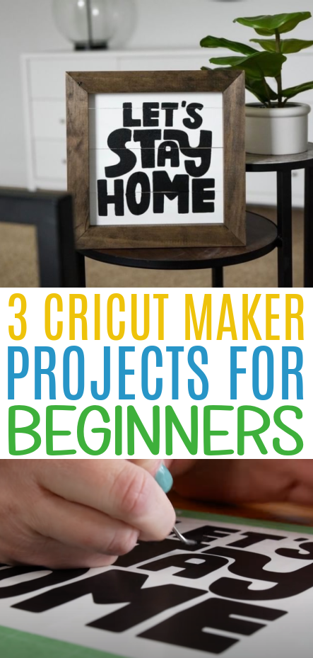 3 Cricut Maker Projects For Beginners