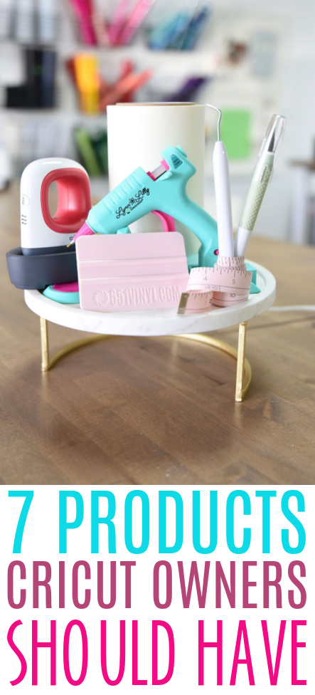 7 Products Cricut Owners Should Have 1
