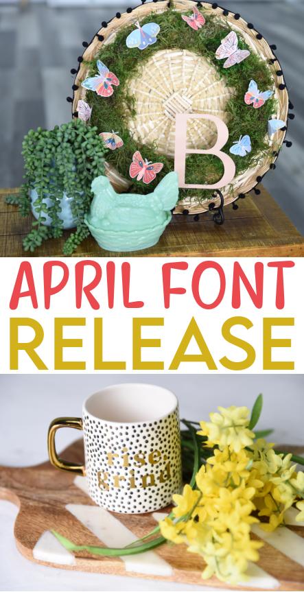 April Font Release 1