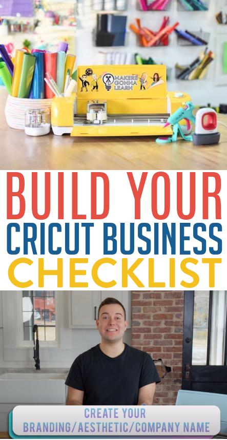Build Your Cricut Business Checklist