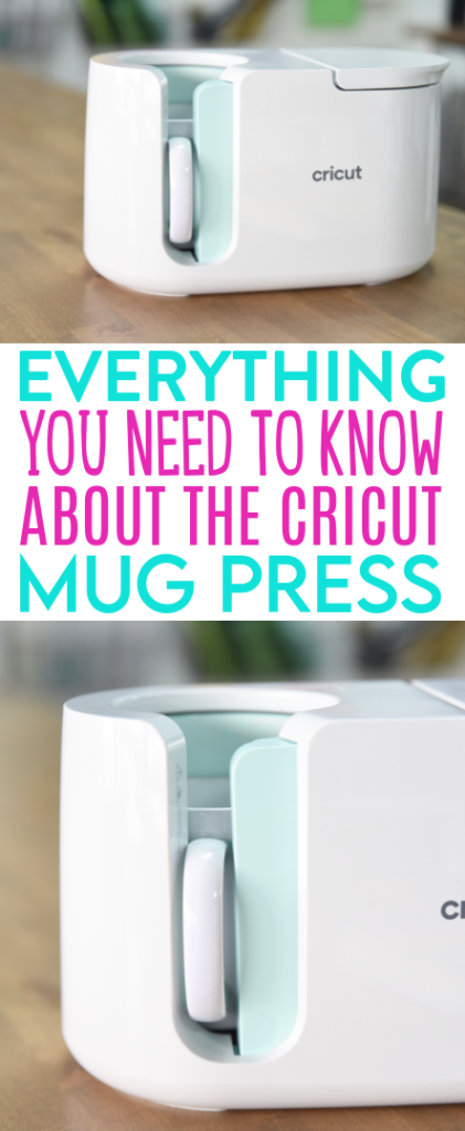 Everything You Need To Know About The Cricut Mug Press