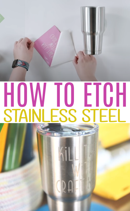 How To Etch Stainless Steel 1