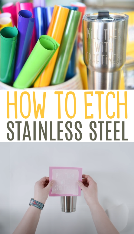 How To Etch Stainless Steel