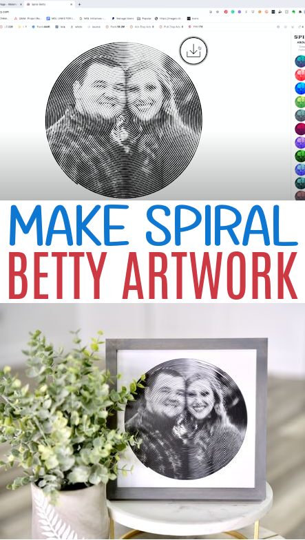 Make Spiral Betty Artwork 2