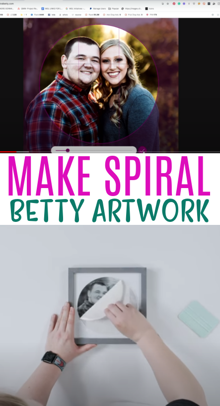 Make Spiral Betty Artwork