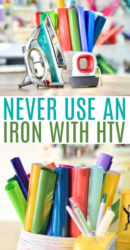 Never Use An Iron With Htv 1