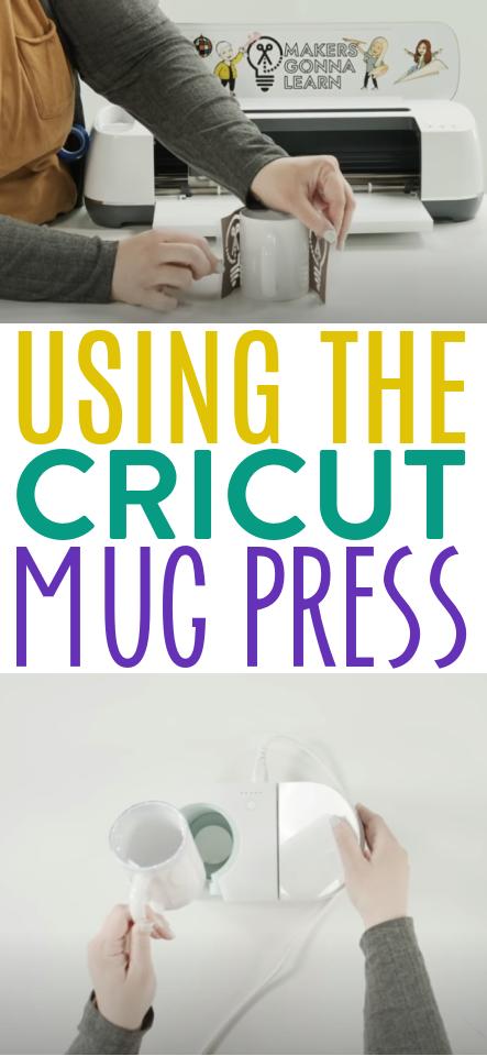 Using The Cricut Mug Press 1