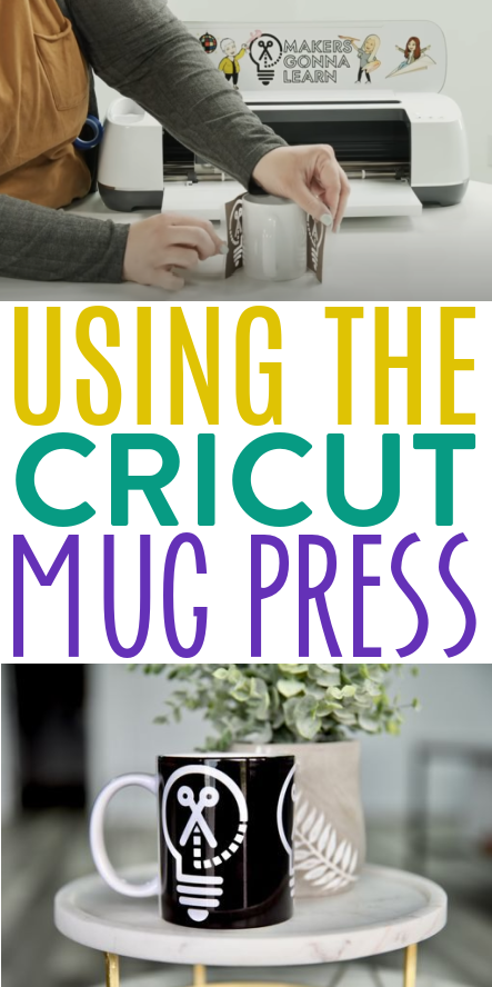 Using The Cricut Mug Press 2