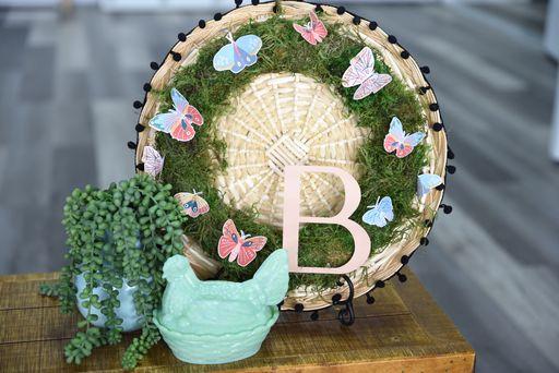 Butterfly Moss Wreath