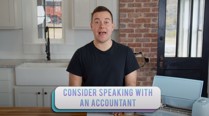Consider Speaking With An Accountant when getting ready to build your Cricut business