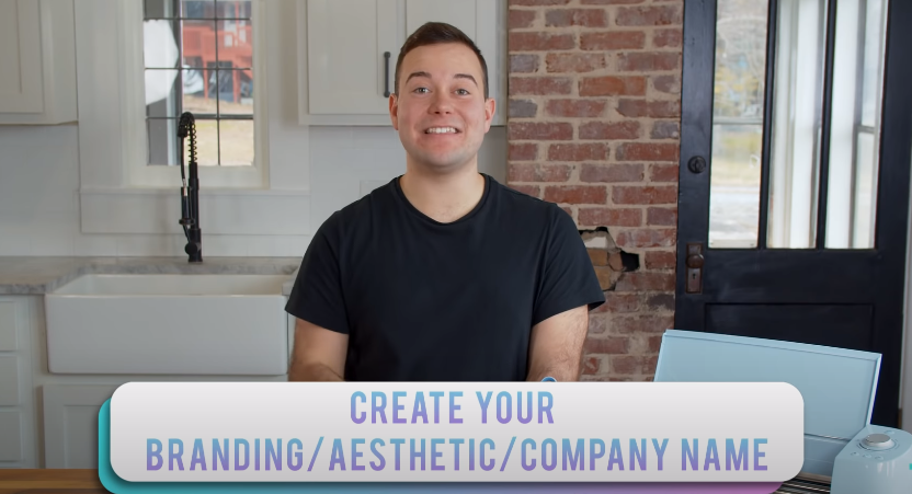 Create Your Branding Aesthetic And Name