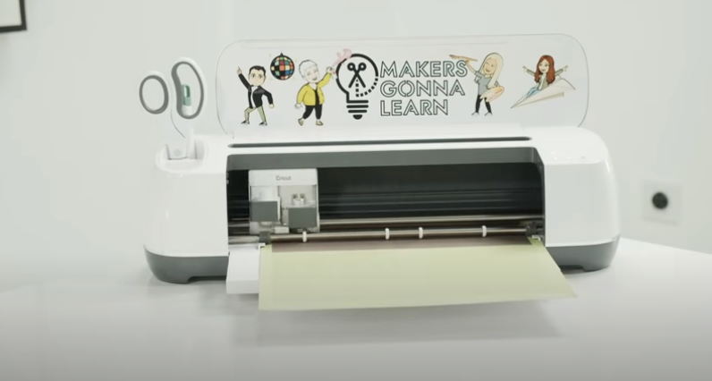 Cricut Machine Cutting Out Infusible Ink Design