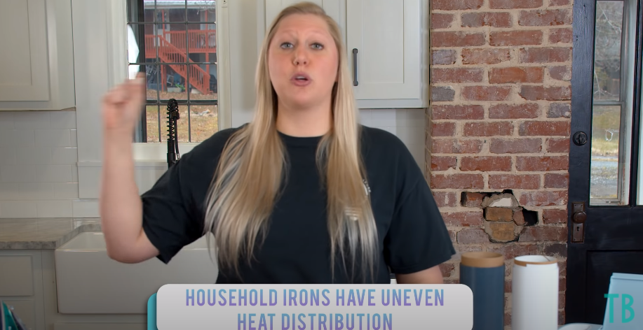 Household Irons Have Uneasy Heat Distribution
