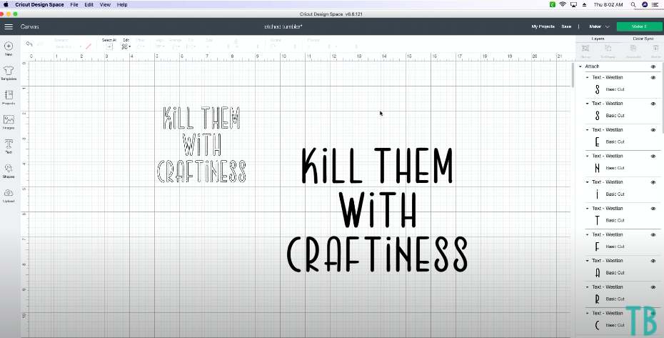 Kill Them With Craftiness Centered